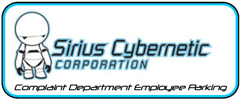 Sirius Cybernetic decal