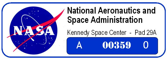 Nasa decal